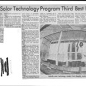 Cabrillo's Solar Technology Program Third Best In U.S