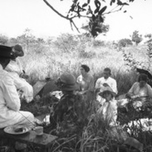Swiss missionaries on a picnic, southern Africa