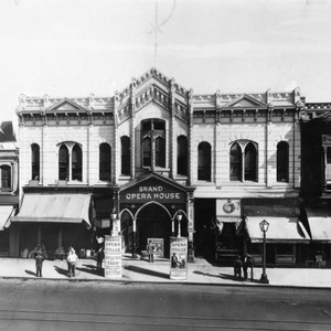 Front view of the Grand Opera House