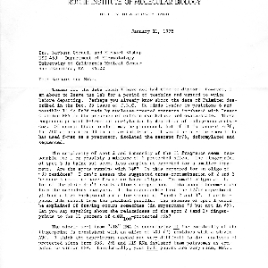 Aaron J. Shatkin letter to J. Michael Bishop and Barbara Cordell