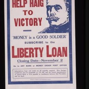 "Help Haig to victory. ""Money is a good soldier,"" subscribe to the ..."