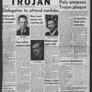 The Trojan, Vol. 35, No. 95, March 18, 1944