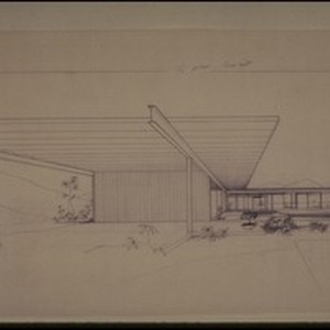 Stahl residence, Los Angeles, Calif., 1960?