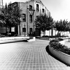 Plaza Substation (Los Angeles Street Side) looking northwest, part of Plazita Dolores ...