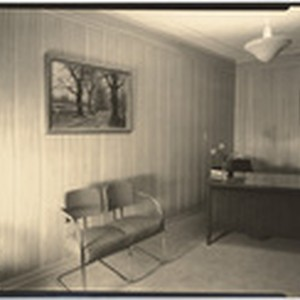 [Interior office general view Pierce Brothers] (3 views)