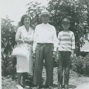 Family photograph, East Los Angeles, California