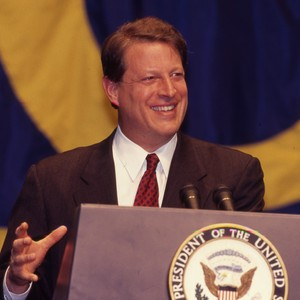 Guest Speakers, guest speaker Al Gore and other unidentified guests, March 20, ...