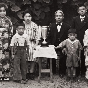 The Moriwaki Family of Oxnard: about 1934 ; back L-R: Masako, Masano ...