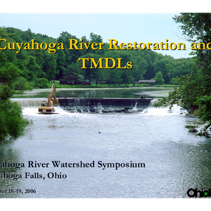 Cuyahoga River Restoration and TMDLs