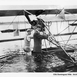 "Curtiss with ""hydroaeroplane"""