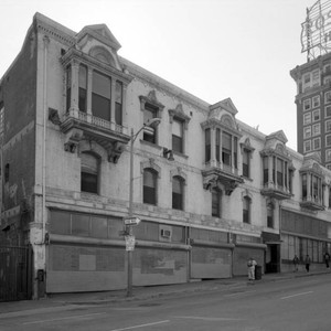 Charnock Block/Pershing Hotel and Roma Hotel