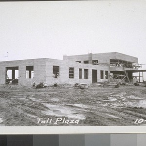 Toll Plaza, Administration Building, 1935--No. 1-51
