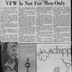 VFW is not for men only