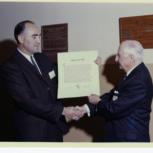 School of Pharmacy Alumni Award for 1962