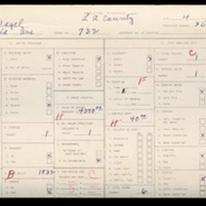 WPA household census for 732 AMALIA, Los Angeles County