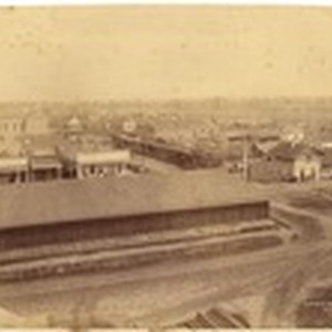 General view of Biggs, Butte Co., Cal. from waterworks #1