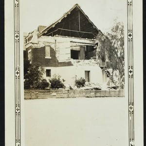 John Muir School, 1455 Pacific Avenue, rear of school, damage from the ...
