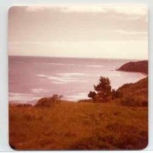 Photographs of landscape of Bolinas Bay. Pacific Ocean from Bolinas