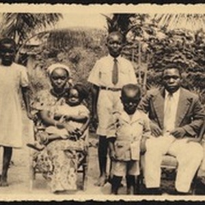 African family, Congo, ca.1920-1940