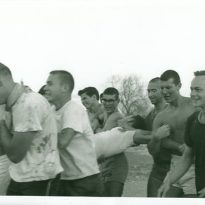 Tug of war, Harvey Mudd College