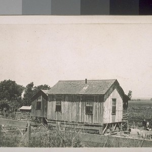 [Ranch house of a Japanese farmer, near Sacramento River, California.]