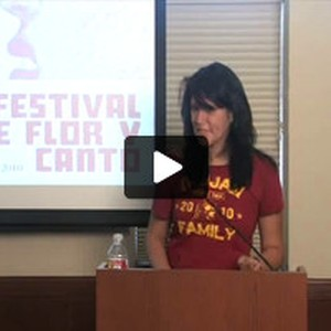 Elida Becerra reads from her poems, 2010