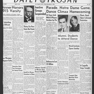 Daily Trojan, Vol. 32, No. 57, December 06, 1940