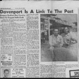 Davenport is a link to the past