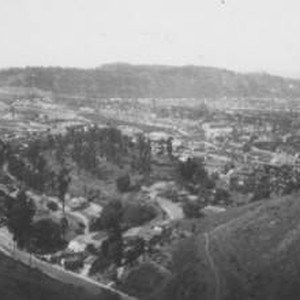 View of Los Angeles in 1932