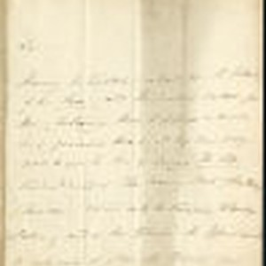Hugh Doherty letter, 1825 July 1