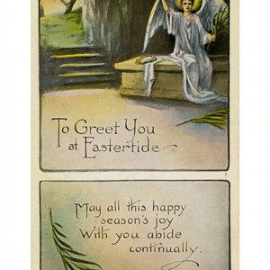 To greet you at Eastertide