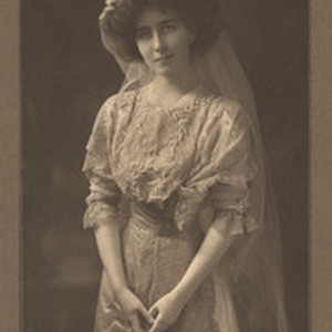 Mrs. Ralston White, with hat and veil