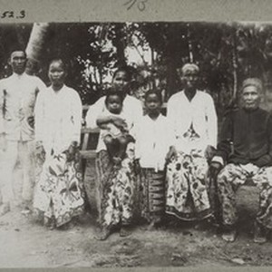 A heathen family in the village of Bintang Ninggi