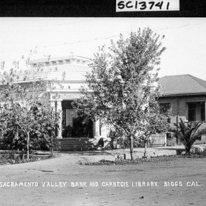 Sacramento Valley Bank and Carnegie Library