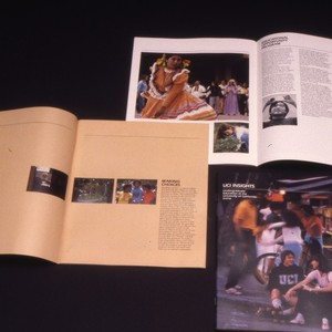 Images of various UCI publications.