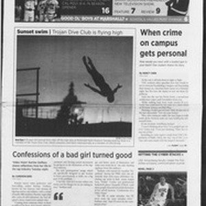 Daily Trojan, Vol. 160, No. 15, January 31, 2007