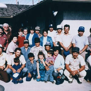 Sakahara Family and F.S. Nursery Employees, Group Portrait, Anaheim [graphic]
