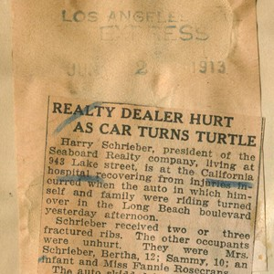 Realty dealer hurt as car turns turtle