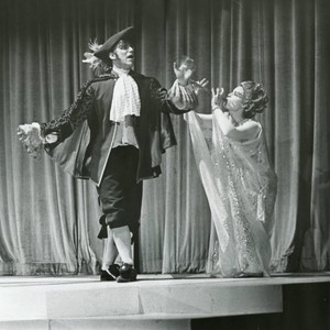 "Scene from student production of ""The Tempest"", 1968"