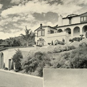 Hilltop house in the Rancho La Costa development, ca. 1938
