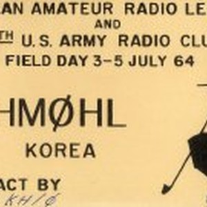 QSL Card to K6JI from HM0HL