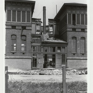 A. Street between 5th & 6th Aves; French Hospital. [Anza St. between ...