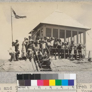 Kings and Tulare 4-H clubs at Buck Rock Lookout Station, Sequoia National ...