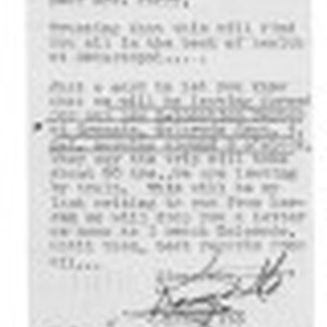 Letter from Kazuo Ito to Lea Perry, August 31, 1942