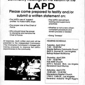 Public session, 1991-05-01: materials from organizations (2 of 2), 1990 June - ...