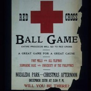 Christmas Red Cross ball game. ... Fort Mills vs. all Filipinos. Submarine ...