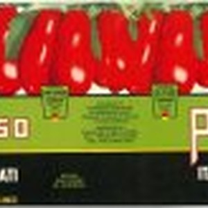 Paradiso brand Italian Style Tomatoes label