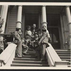 Mike Masaoka (second from left), national secretary and field executive of Japanese ...