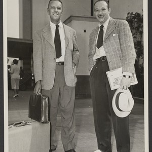Hale Woodruff and Charles Alston, Union Station, Los Angeles