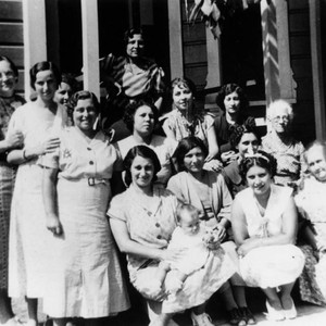 Group of women in Lincoln Heights